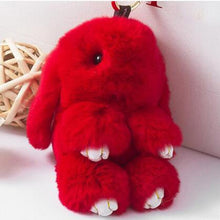 Play Dead Rabbit Fur Rabbit Bunny Keychain - Dashlux