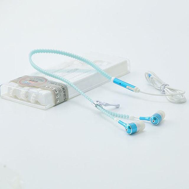 Luminous In-Ear Zipper Earphone - Dashlux