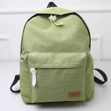 Canvas Fashion Backpack -Green- Dashlux