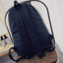 Canvas Fashion Backpack-Backside- Dashlux