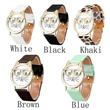 Cute Cat Women Quartz Dial Wrist Watch