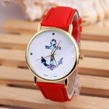 Anchor Leather Quartz-Watch - Dashlux