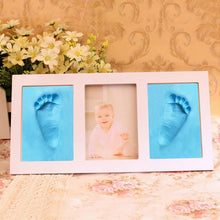 Baby Handprint and Footprint Kit Photo Frame DIY - Dashlux