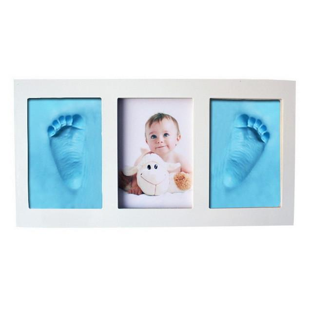 Baby Handprint and Footprint Kit Photo Frame DIY – Dashlux