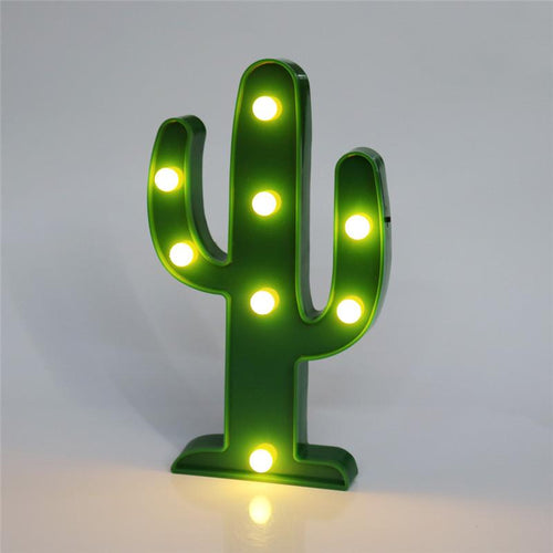 Cactus 3D LED Christmas Night Light - Dashlux