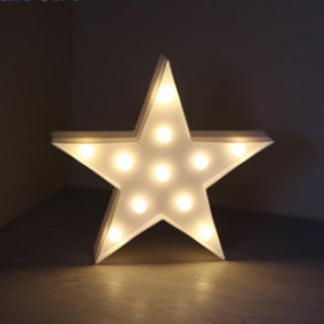 Star 3D LED Christmas Night Light - Dashlux