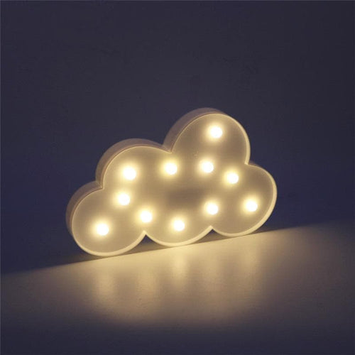 Cloud 3D LED Christmas Night Light - Dashlux