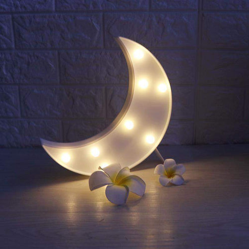 Moon 3D LED Christmas Night Light - Dashlux