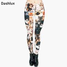 Cats 3D Print Women Legging Slim Fit - Dashlux
