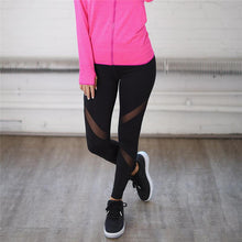 Black High Waist Sport Leggings