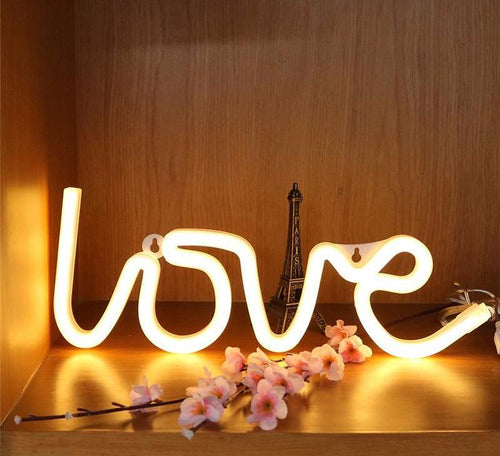 Love Letter LED Night Light - Dashlux
