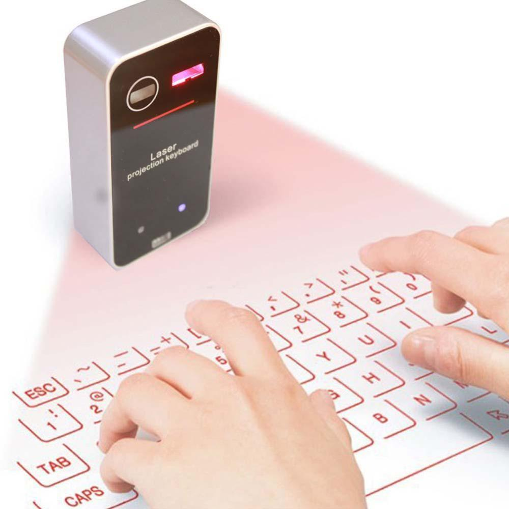 Laser Projection Bluetooth Keyboard & Mouse - Dashlux
