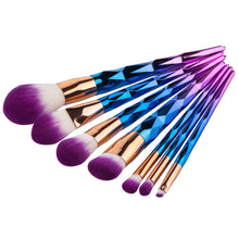 Rainbow Unicorn Brushes - 7 Piece Set - Dashlux