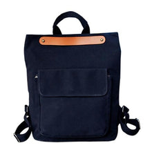 Canvas Backpack Preppy Style Rucksack - Dashlux