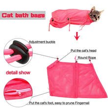 Cat Grooming Mesh Bag - Dashlux
