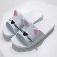 Cute Kitty Cat Ear Slippers