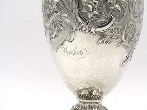 Silver claret jug by Edward, Edward Junior, John and William Barnard, London 1839.