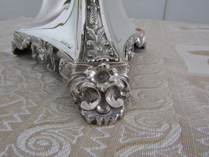 Early Victorian silver centrepiece by Robinson, Edkins, and Aston, Birmingham 1841.