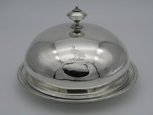 Silver muffin dish by John Hunt & Robert Roskell, late Storr & Mortimer, London 1865. Originates with Paul Storr.
