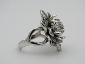 18kt white gold Protea Diamond Dress Ring by Browns.