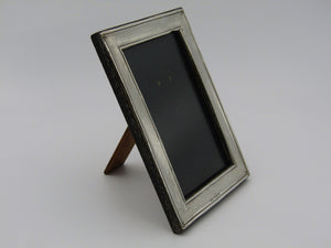 A sterling silver picture frame by Henry Williamson Ltd. Birmingham, 1912.