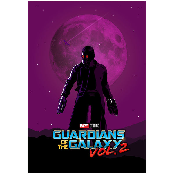 Star Lord - Guardians Of The Galaxy Poster
