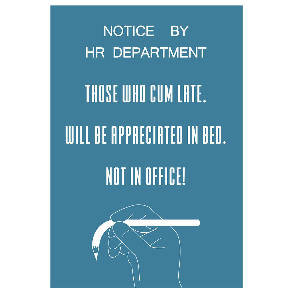 Notice by HR