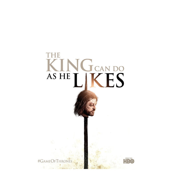 The king can do as he likes