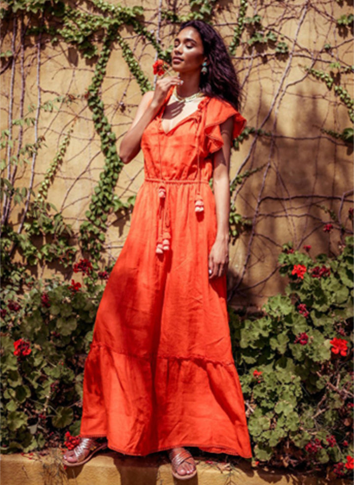 Viola Maxi Dress | Sunset