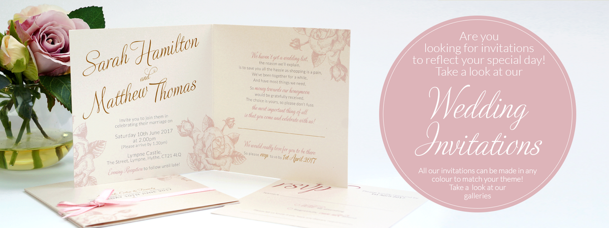 The Perfect Wedding Invitations