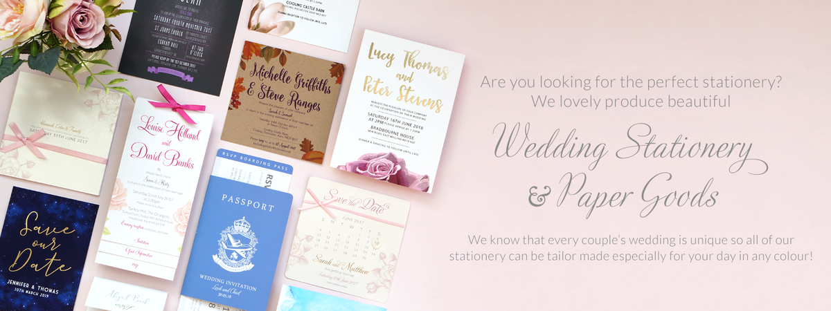 Are you looking for the perfect wedding stationery?