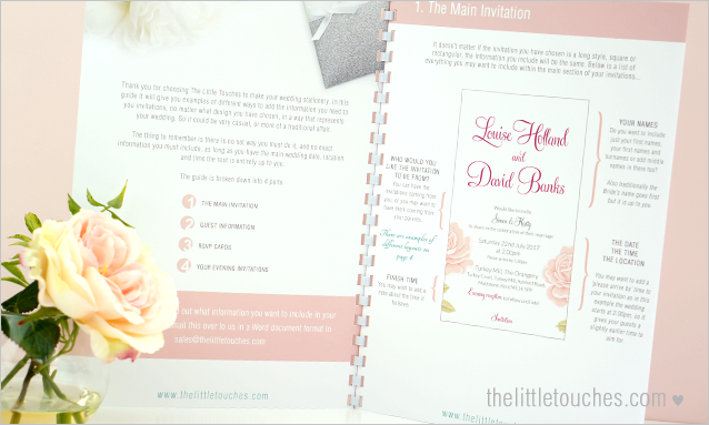 What Information To Include In Your Wedding Invitations