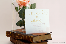 Fairy Tale Evening Wedding Invitations