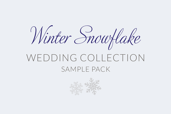 Winter Snowflake Sample Pack