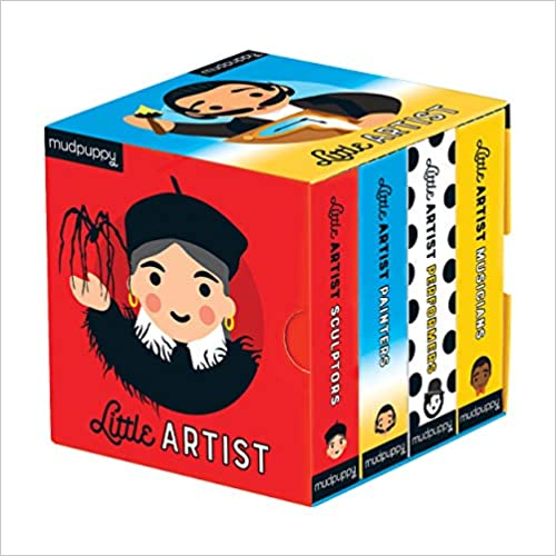Little Artist Board Book Set (4 books)