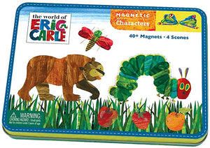 THE WORLD OF ERIC CARLE VERY HUNGRY CATERPILLAR & FRIENDS MAGNETIC CHARACTER SET