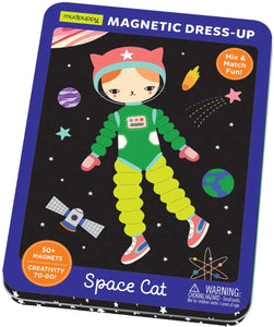 Mudpuppy Space Cat Magnetic Tin
