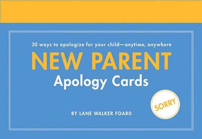 New Parent Apology Cards