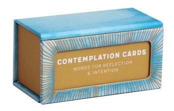 Contemplation Cards Words for Reflection & Intention