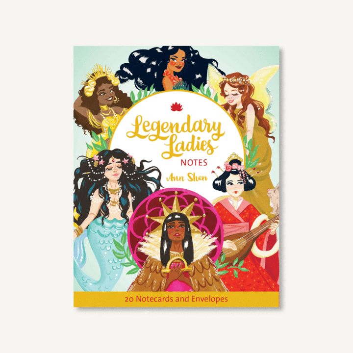 Legendary Ladies Notes 20 Notecards and Envelopes