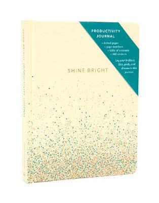 SHINE BRIGHT PRODUCTIVITY JOURNAL, CREAM