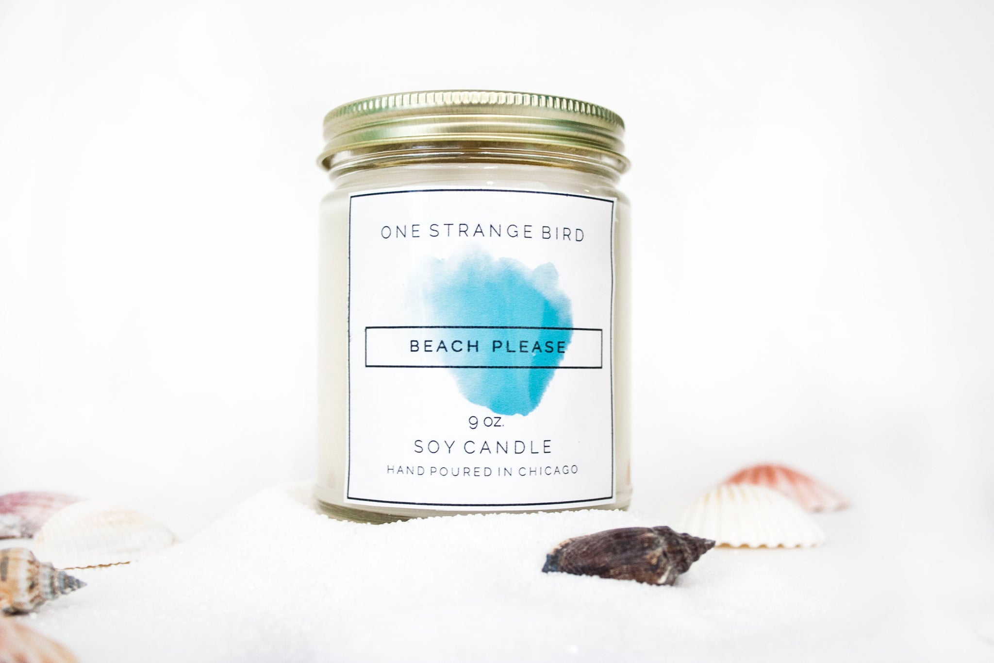 Beach Please Handmade Soy Candles