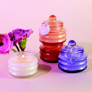Beam Glass Candles