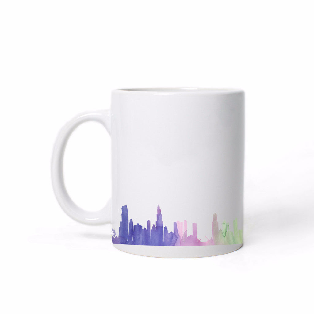 Chicago Skyline Mug - One Strange Bird