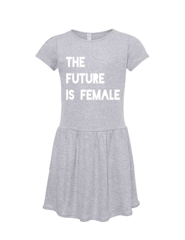 Future is Female Kids Dress