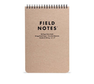 Field Notes - 80 page Steno Book