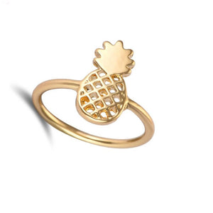 Gold Pineapple Ring