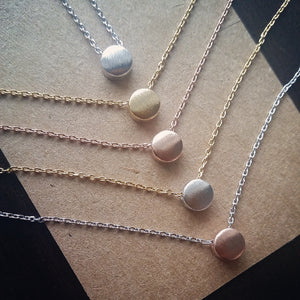Small Dot Necklace