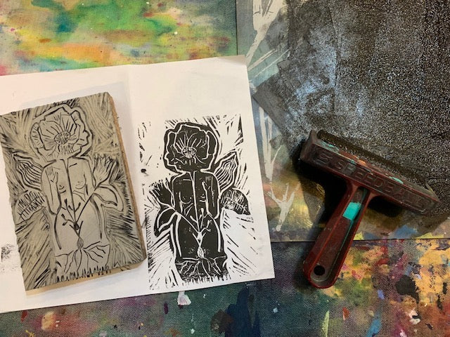 Gal-entines-Printmaking Workshop: Cards-  6:30-8:30pm