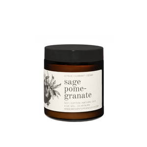 Sage Pomegranate Travel Candle